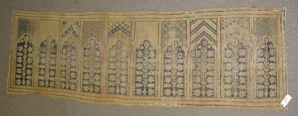 Early Oriental weaving, 3'3