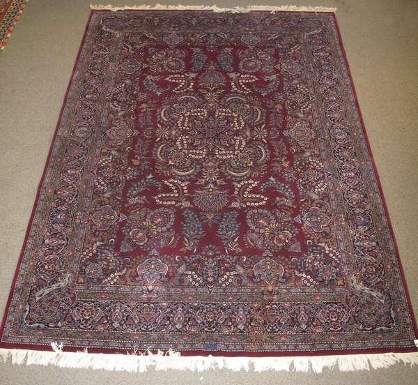 Fine Oriental rug, 8'8