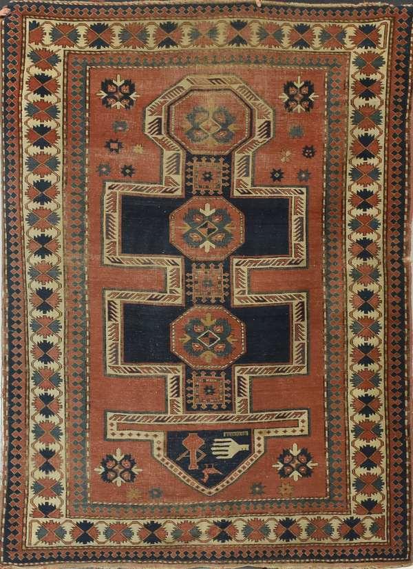 Late 19th C. Oriental rug, 6'3