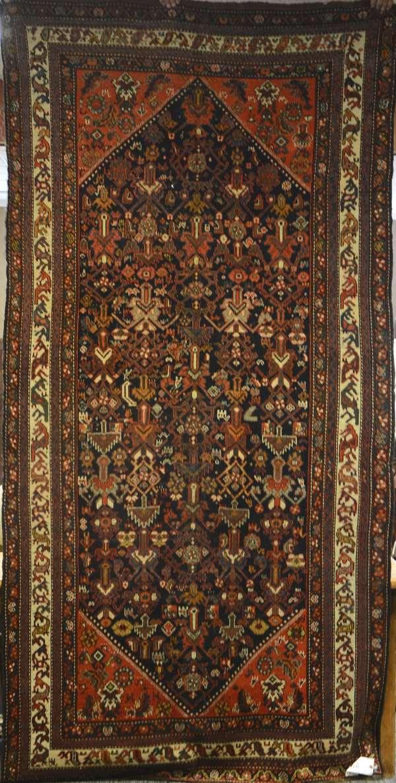 Persian rug,  4'10
