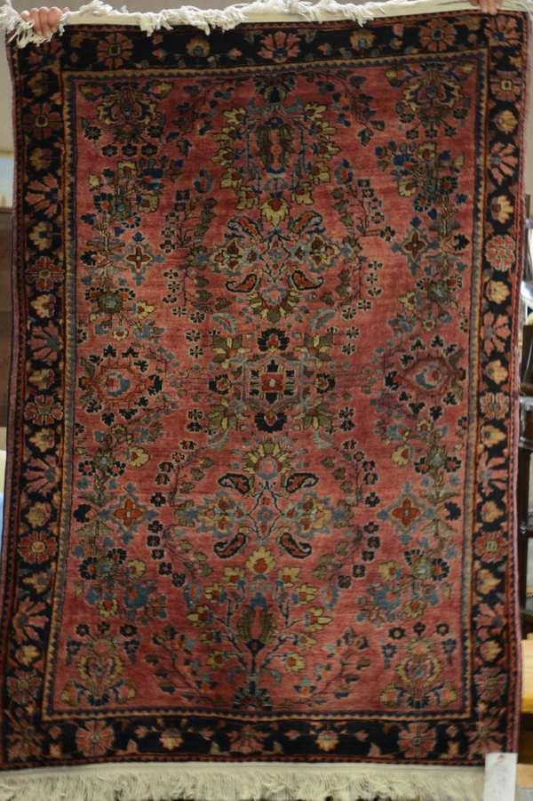 Oriental Persian rug, 3'4