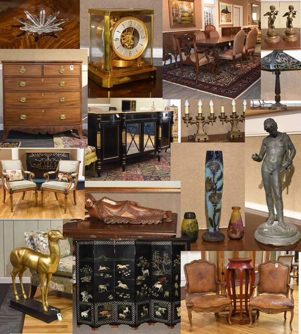 UNRESERVED PUBLIC AUCTION The contents of a Westport CT waterfront home and Closeout kitchen appliances and lighting