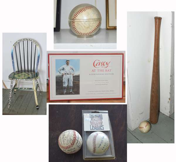 Fine Weds Evening Estate Auction featuring the Estate of Donald Hall, famed Poet Laureate and avid baseball fan