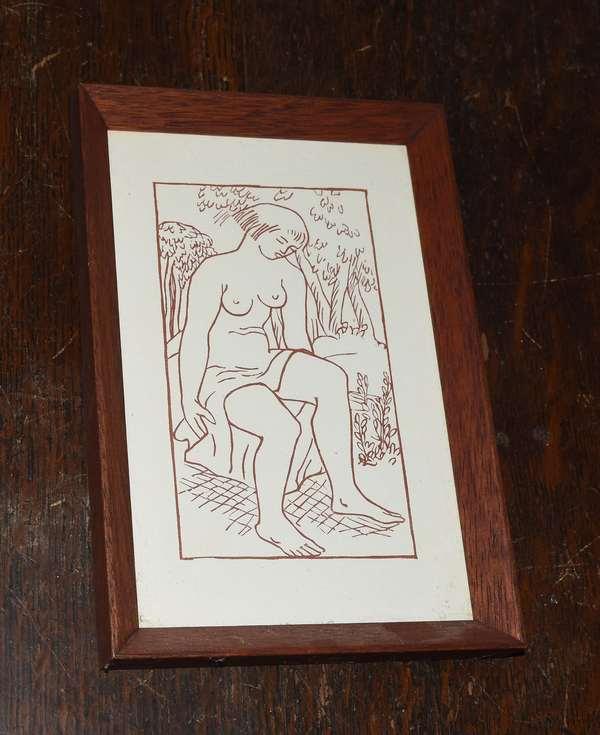 Sangiune woodcut,