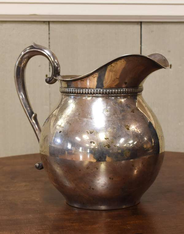 Sterling silver pitcher, approx. 18 Toz (77-194)