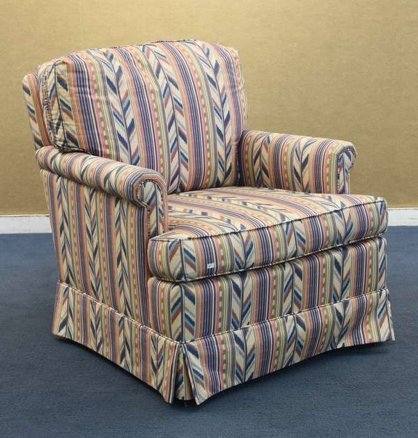 Upholstered lounge chair by Country Chairs Inc. (96–225)