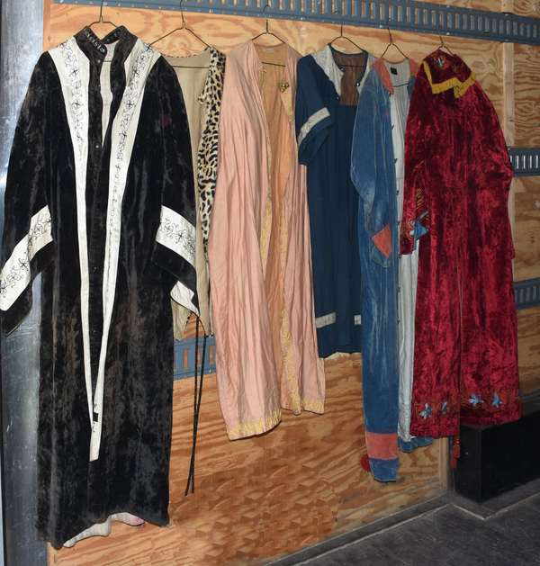 Lot of Odd Fellows costumes/ robes (105-79)