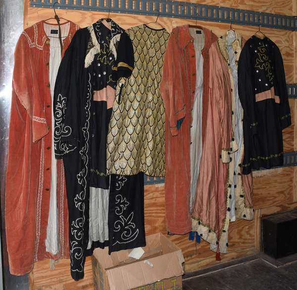 Selection of odd Fellows costumes/ robes (105-81)