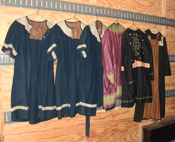 Selection of Odd Fellow costumes/ robes (105-83)