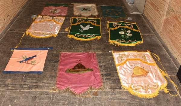 Odd Fellows banners (105-84)