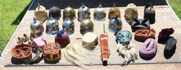 Odd Fellows hats (105-76)