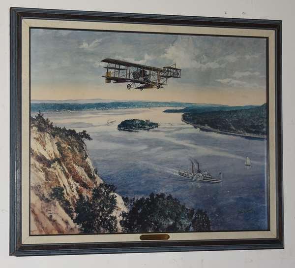 "John Gould print ""the Albany Flyer"", 17.5"" x 24"" (293-6)"