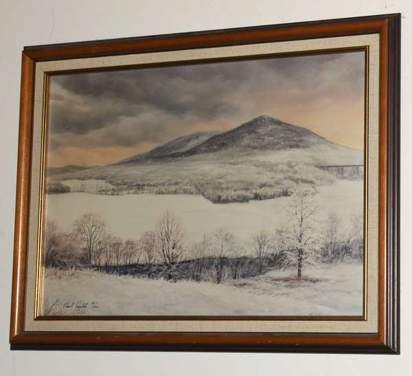 "Paul Gould print ""Winter"" 8/500, 14"" x 19"" (293-9)"