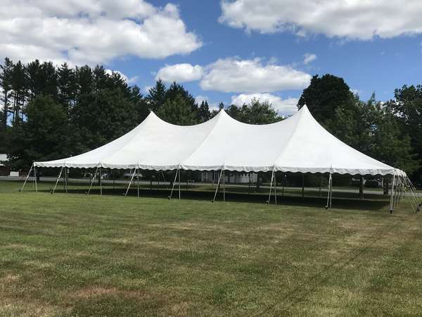 The July Auction Under Tents