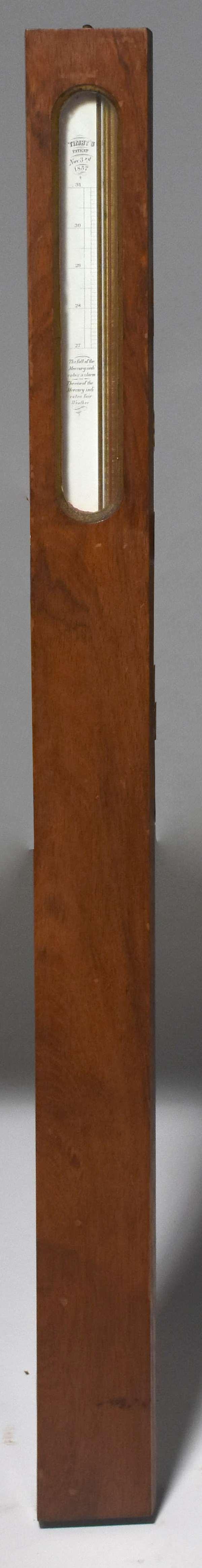 Rosewood barometer, Timby's pat 1857