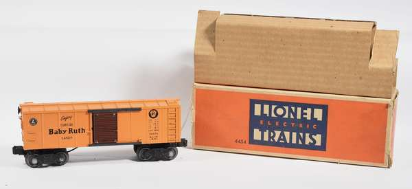 Lionel 4454 electronic control boxcar, OB, hard to find