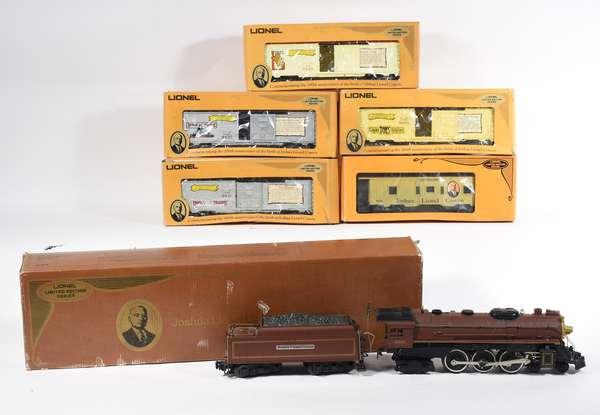 Lionel 8210 Joshua Cowen 4-6-4 steam/loco/tender, freights 9429, 9430, 9431, 9434, 6421, OBS