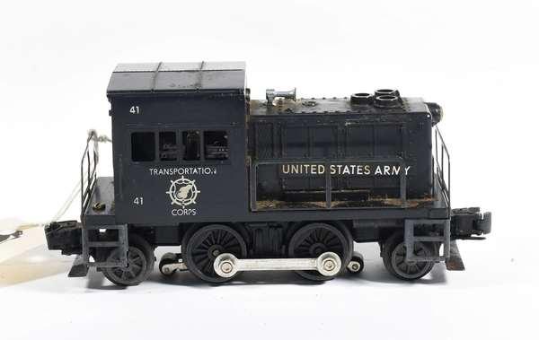 Lionel motorized Unit No.41 U.S. Army Switcher