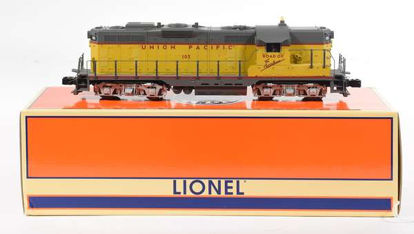 Lionel 28567 Union Pacific GP-7 Diesel Locomotive '105', CC, OB