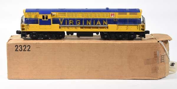 Lionel 2322 Virginian FM Trainmaster Diesel, OB