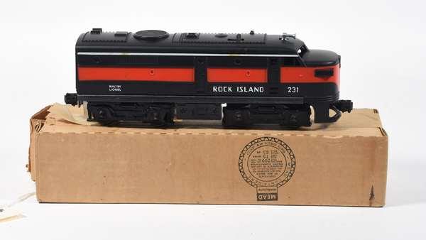 Lionel 231 Rock Island Alco A Diesel, OB