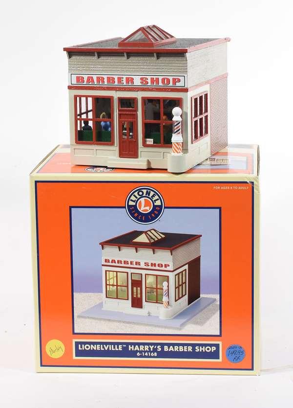 Lionel 14168 Harry's Barber Shop, OB