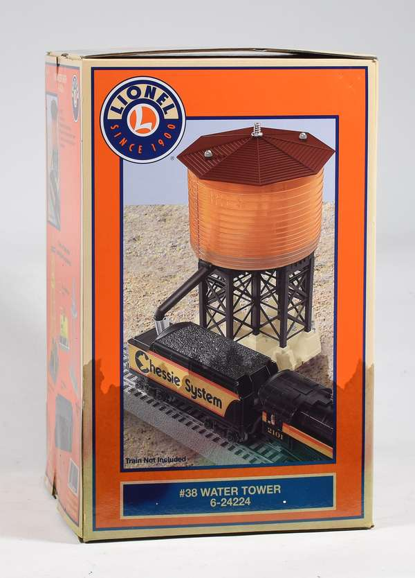 Lionel 24224 '38' Water Tower, OB