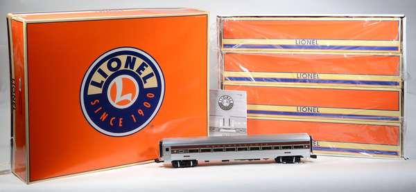 Lionel 25450 PRR Congressional Aluminum Passenger Car 4-pack, OBS