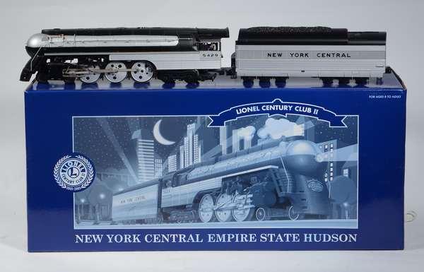 Lionel 38000 NYC 4-6-4 Hudson Empire State Locomotive, LCC 11, OB