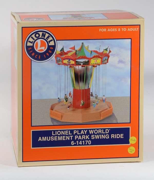 Lionel 14170 Amusement Park Swing Ride, OB