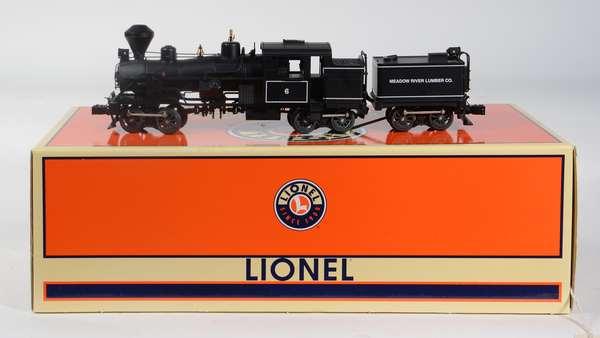 Lionel 38027 Meadow River Lumber Heisler Geared Locomotive '6', CC, OB