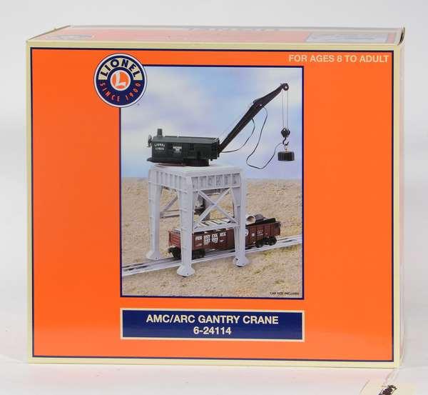 Lionel 24114 AMC/ARC Gantry Crane, CC, OB