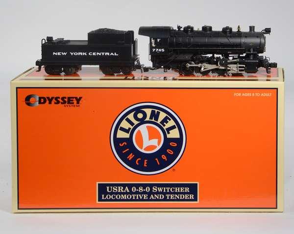 Lionel 28080 NYC 0-8-0 Locomotive, '7745' CC, OB