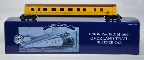 Lionel 51249 Union Pacific Overland Route Sleeper Car, LCC, OB