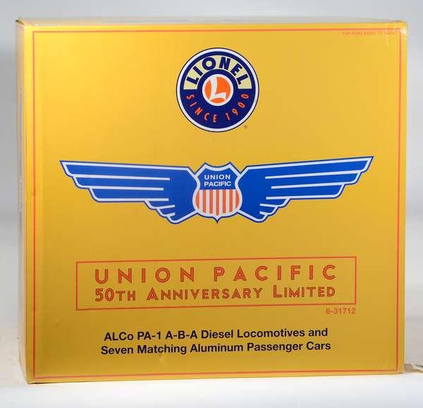 Lionel 31712 Union Pacific Alco PA Diesel Passenger Set, Railsounds, OBS