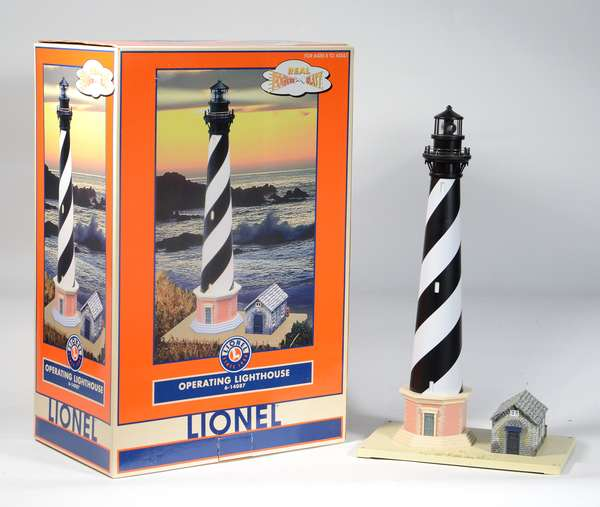 Lionel 14087 Operating Lighthouse, OB
