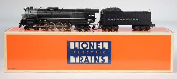 Lionel 18003 Delaware & Lackawanna 4-8-4 steam locomotive/tender, OB