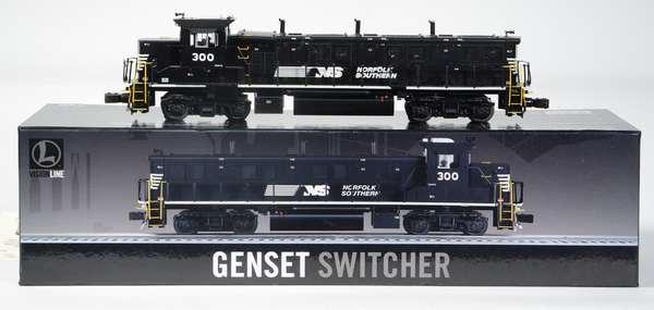 Lionel 28323 Norfolk Southern Vision Line Gemset Switcher, CC, OB