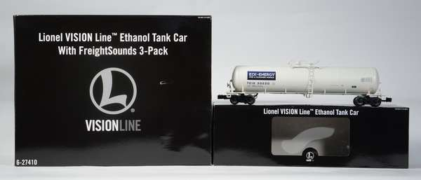 Lionel 27410 Vision Line Ethanol tank car 3-pack, sound, OB