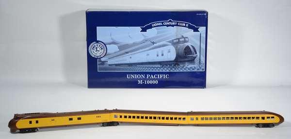 Lionel 51007 Union Pacific M-10,000 4-car Passenger Set, LCC, OBS