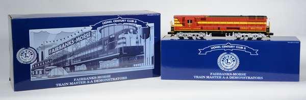 Lionel 18340 FM Trainmaster AA Diesel Set, LCC11, OBS
