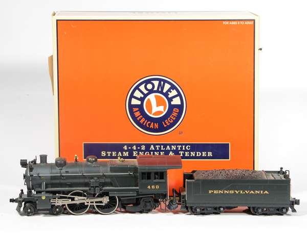 Lionel 18095 PRR 4-4-2 E  Atlantic Locomotive, CC, OB