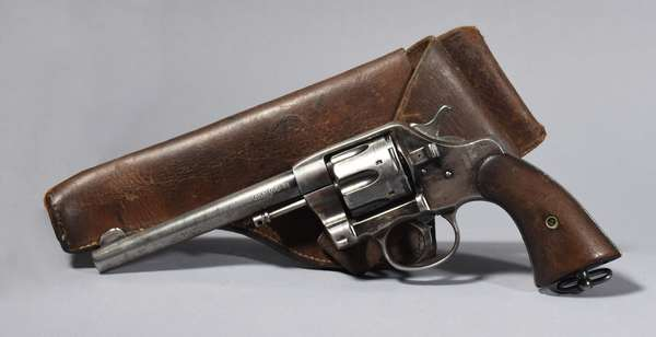 Colt 1895, DA 38 with holster, #538