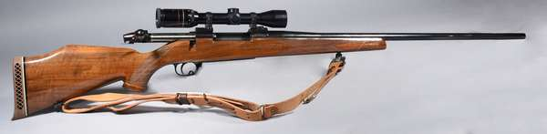 Weatherby Mark V, 257 mag with scope, #H257449, (T-44)