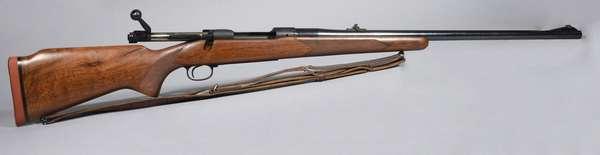 Winchester model 100, 284 cal., #85866, (T-70) (clip at desk)