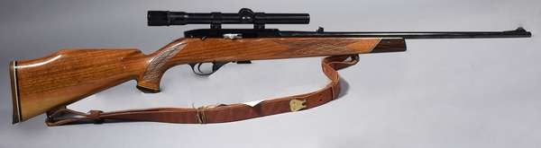 Wetherby Mark XXII, 22 cal., with scope, #23104, (T-28)