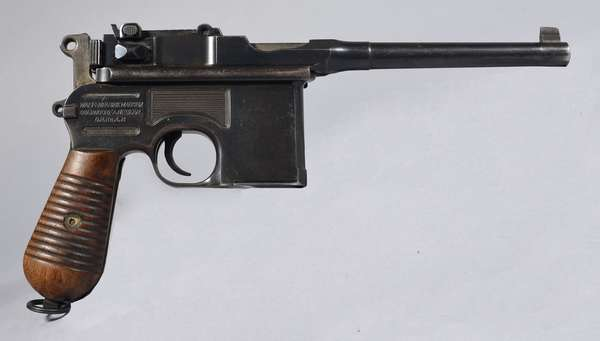 Mauser Waffenfabrik, mod. C96, #914226, with holster,  (T-25)