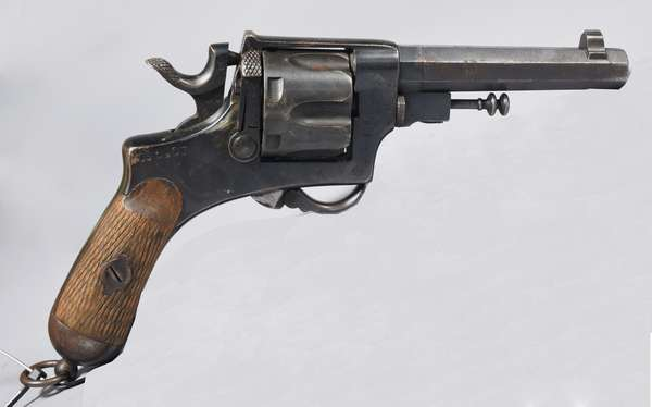 Bernardelli Gardone, 1930 CS 1907 6 shot revolver #4986 (T-13)