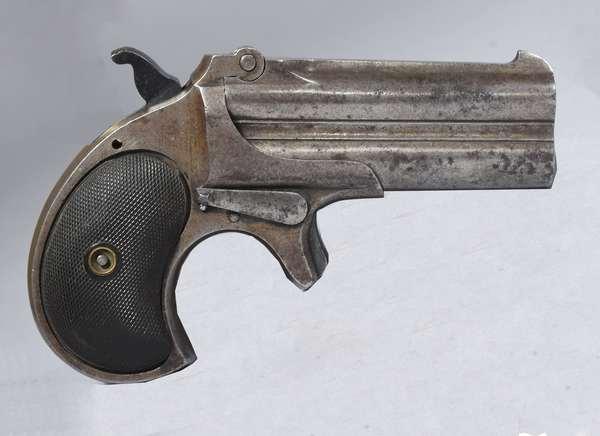 Remington dbl 41 over under Derringer 1866-1935 (sheet # 150)