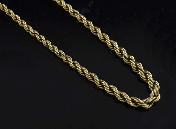 14k yellow gold chain (320-5)